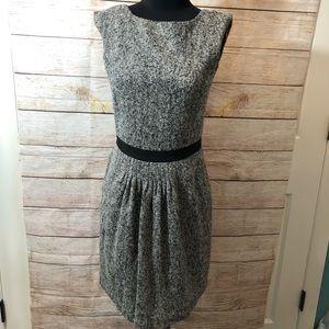 American Retro Boucle Bandol Wool Blend Dress 40